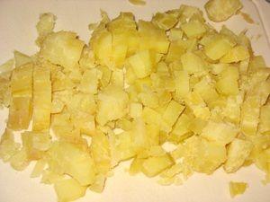 картошка для окрошки с мясом