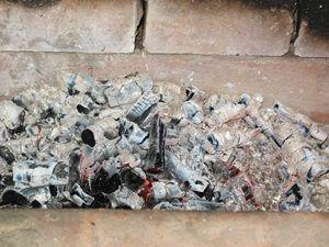 угли для жарки шашлыка готовы