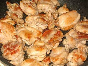 жарка курятины для шаурмы