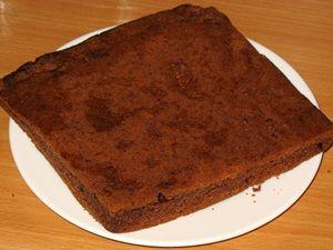 корж для пирожного картошка