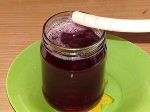 слив малинового сока