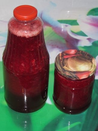 Концентрированный брусничный сок