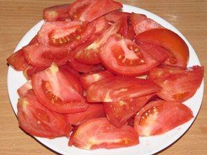 резаные помидоры для горлодёра