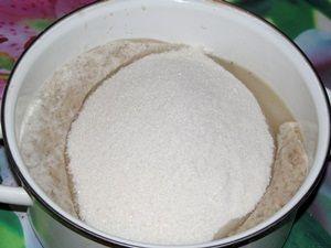 сок белой смородины с сахаром