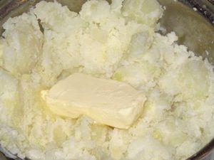 картофельное пюре для запеканки