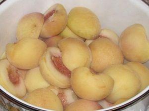 варка персиков