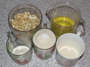 ингредиенты коржей Киевского торта