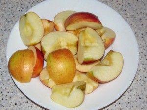 яблоки для утки
