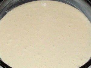 тесто для выпечки белого коржа