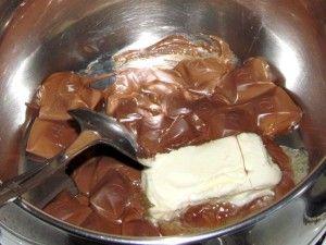 варка шоколадной глазури