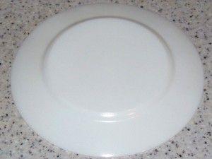 дно тарелки после мойки