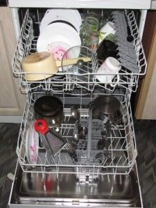 грязная посуда в пмм