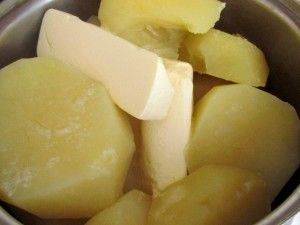 картошка с маслом