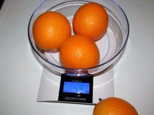 Кулинарные весы для конкурса