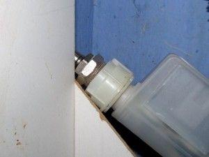 подключение подачи воды для посудомоечной машины