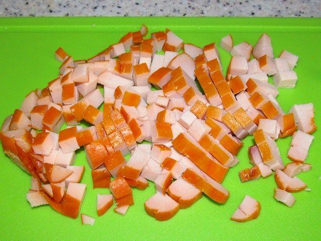 рецепт салата с капустой и курицей