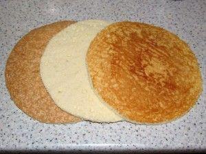 три слоя бисквита