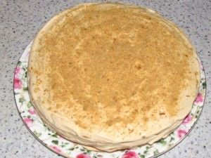 украшение торта крошкой