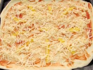 первый слой сыра