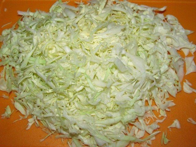 рубленная капуста для салата