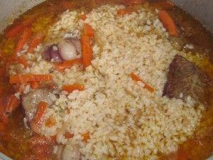 горка риса