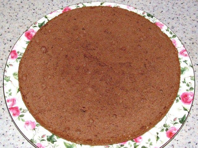 рецепт воздушного коржа для торта