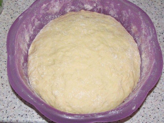 Сдобное тесто на плюшки