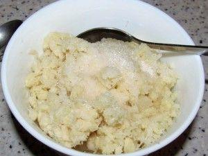 хрен сахар соль уксус масло