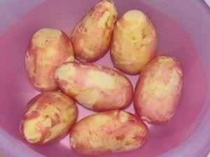 скоблёная картошка
