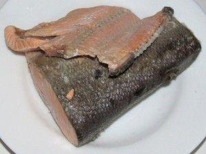 варёный лосось