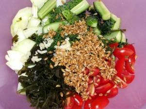 все ингредиенты салата