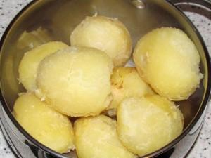 чищеная картошка