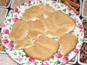 нижний слой печенья