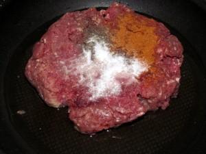 фарш перец соль и минералка