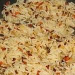 Жареный рис с луком