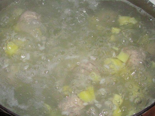 варка картошки в супе