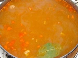 заправленный суп