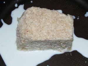 хлеб размачивается в молоке