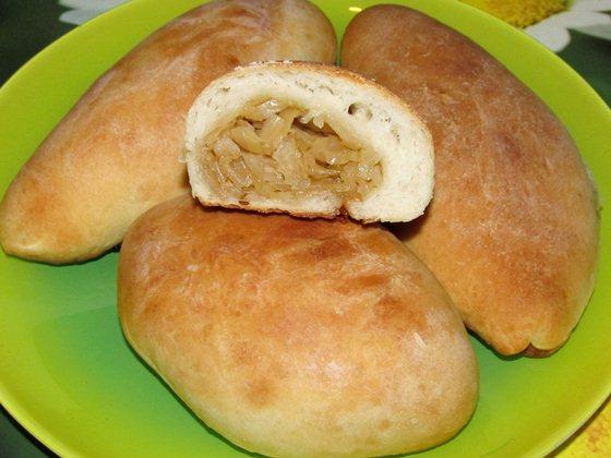 Постные пирожки с капустой фото рецепт приготовления