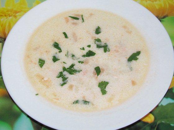 сливочный суп из семги рецепт с фото
