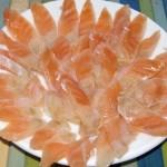 Солёные брюшки сёмги