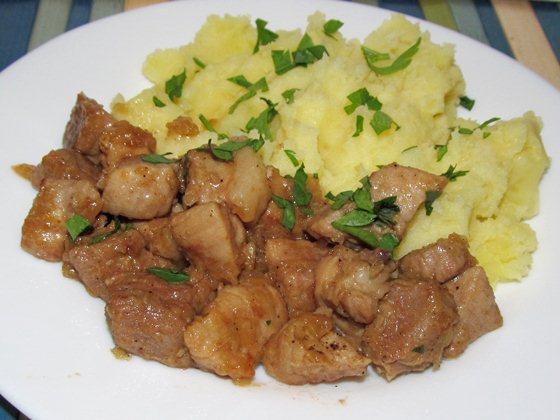 Тушёная свинина фото рецепт приготовления