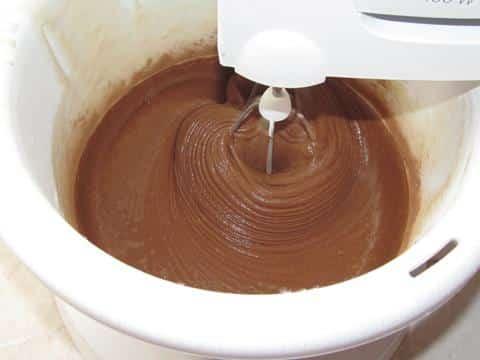 тесто для шоколадного коржа