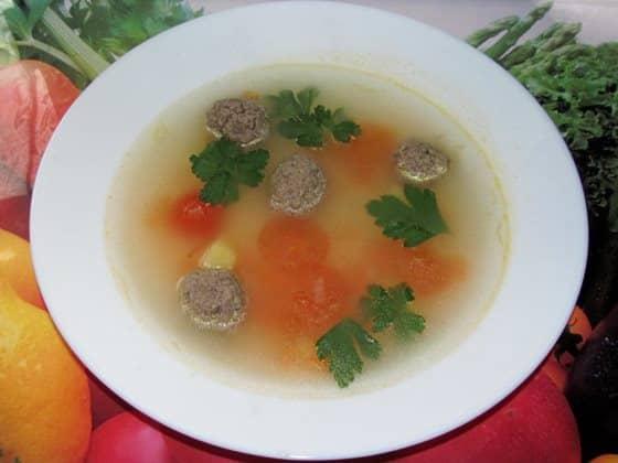 фото суп с помидорами