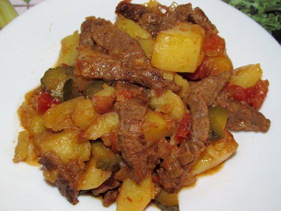 Азу из говядины фото рецепт приготовления