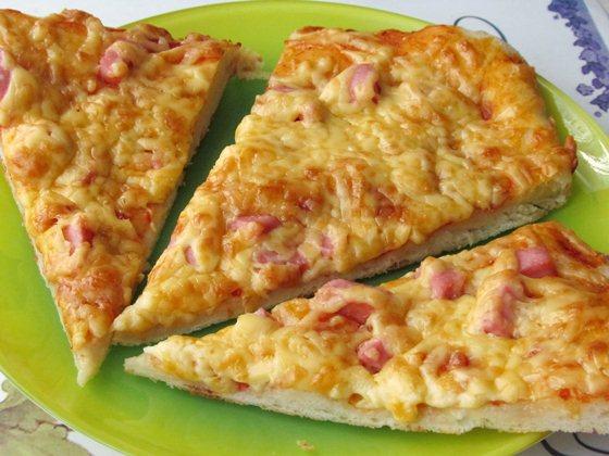 Детская пицца фото рецепт приготовления