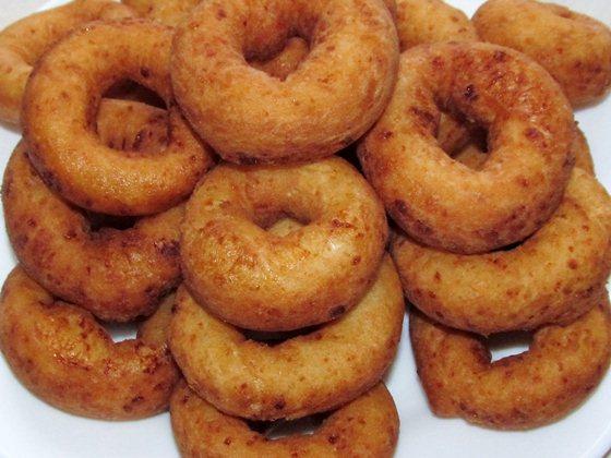 готовые творожные пончики фото