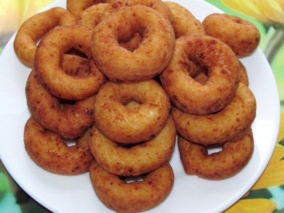 Творожные пончики фото рецепт приготовления