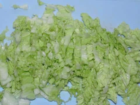порезать капусту