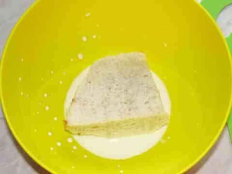 хлеб залить молоком